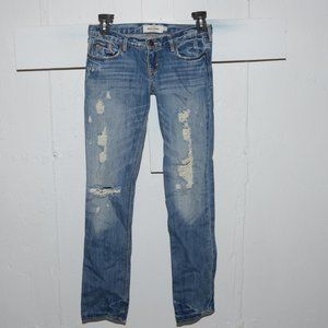 Abercrombie straight girls jeans size 14